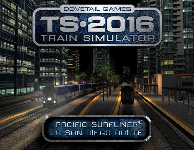 Train Simulator: Pacific Surfliner® LA - San Diego Route (PC) фото