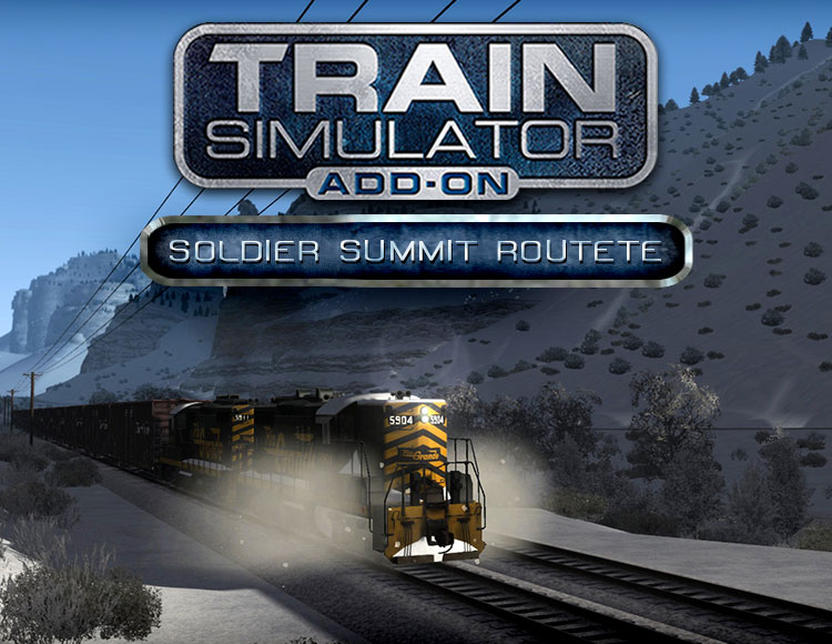 Train Simulator: Soldier Summit Route Add-On (PC) фото