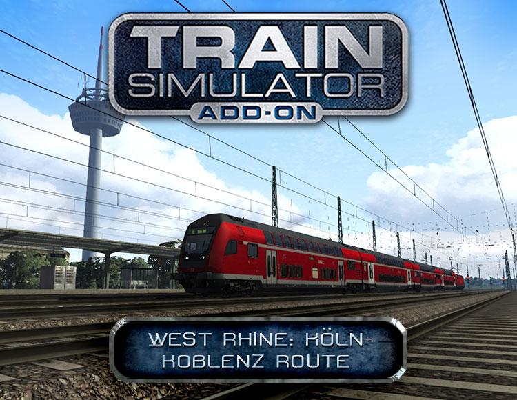 Train Simulator: West Rhine: Köln - Koblenz Route Add-On (PC) фото