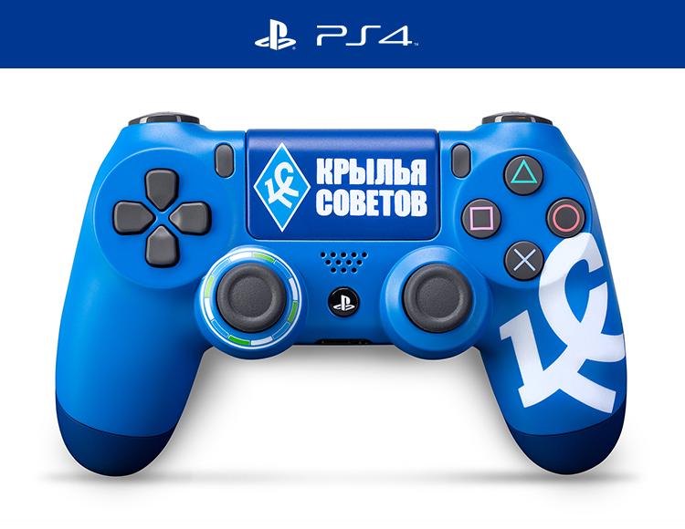 Кастомизированный беспроводной контроллер DualShock 4 «Крылья Советов. Крылышки» фото