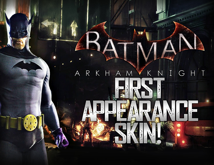Batman: Arkham Knight - 1st Appearance Batman Skin (PC)