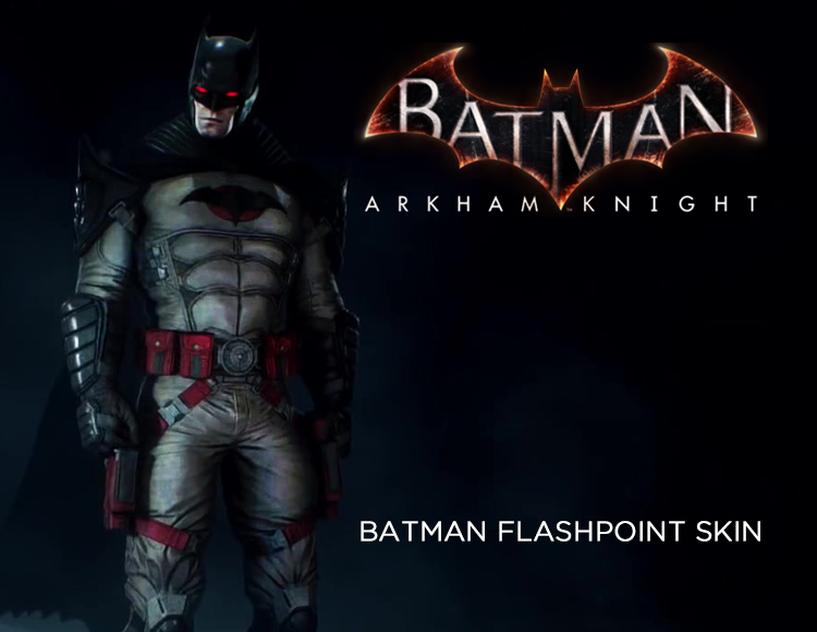 Batman: Arkham Knight - Batman Flashpoint Skin (PC)