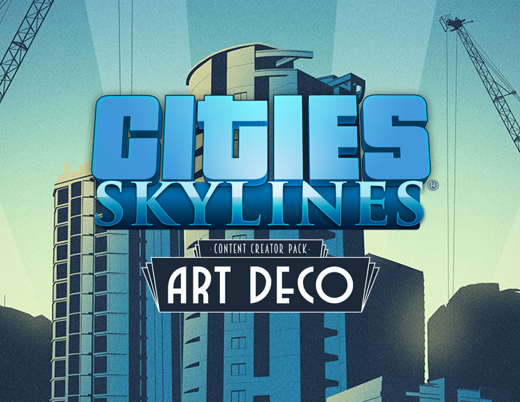 Cities: Skylines - Content Creator Pack: Art Deco (PC)