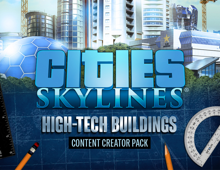Cities: Skylines - Content Creator Pack: High-Tech Buildings (PC) Paradox Interactive