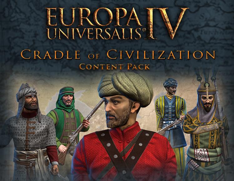 Europa Universalis IV: Cradle of Civilization - Content Pack (PC) фото
