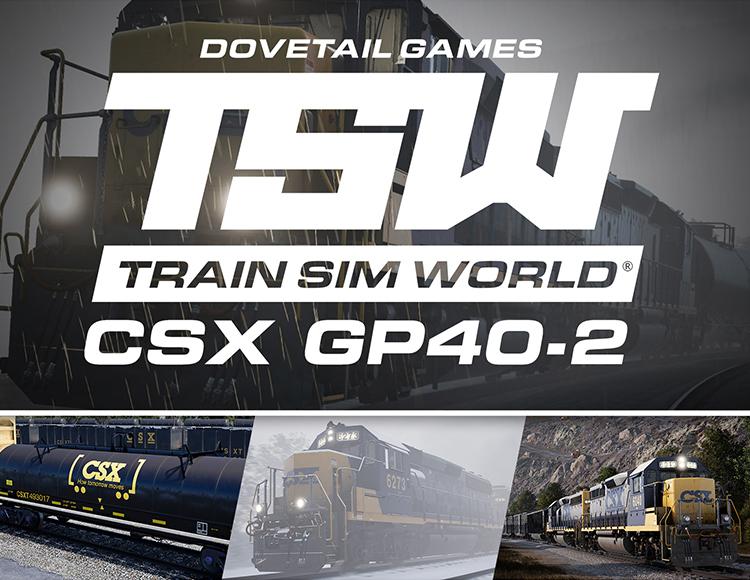Train Sim World®: CSX GP40-2 Loco Add-On (PC) фото