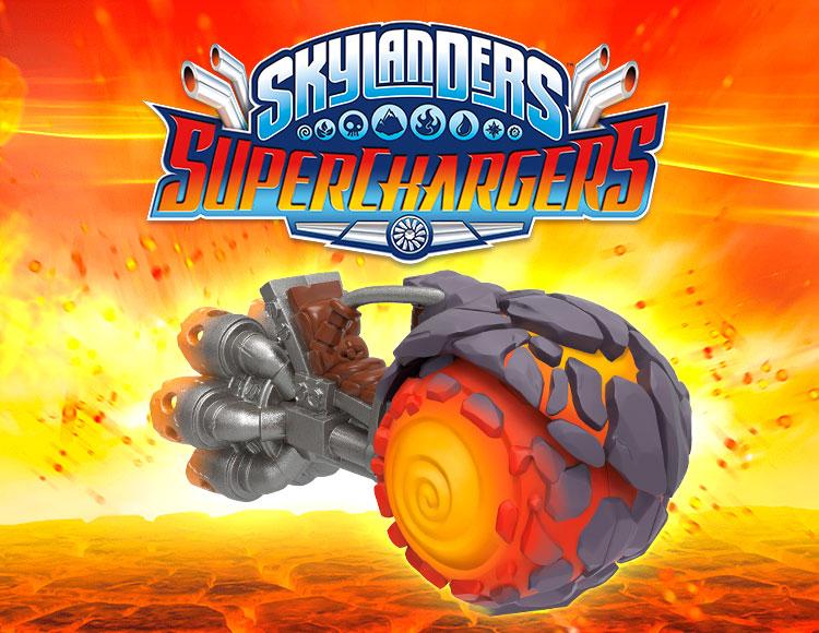 Фигурка Skylanders SuperChargers Машины - BURN CYCLE (стихия Fire) фото