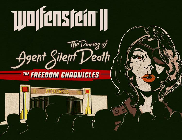 Wolfenstein II: The Diaries of Agent Silent Death (DLC 2) (PC) фото