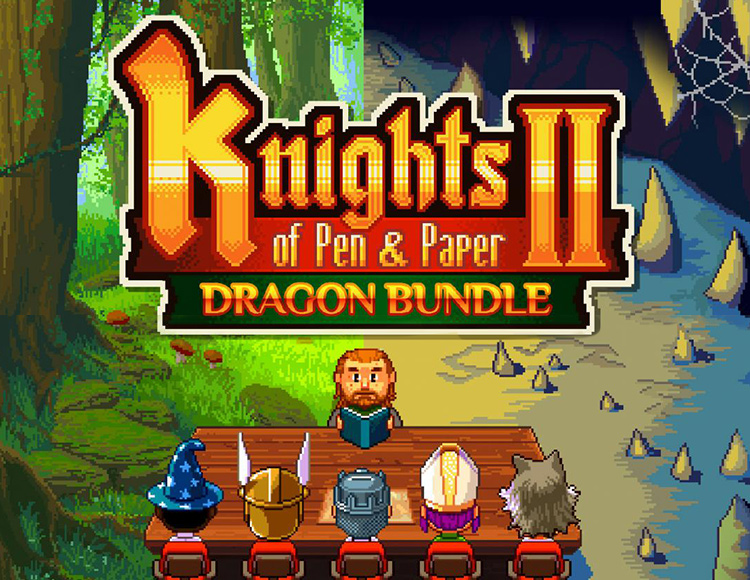 Knights of Pen and Paper 2 - Dragon Bundle (PC) фото