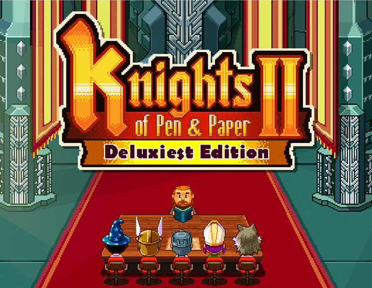 Knights of Pen and Paper 2 - Deluxiest Edition (PC) фото