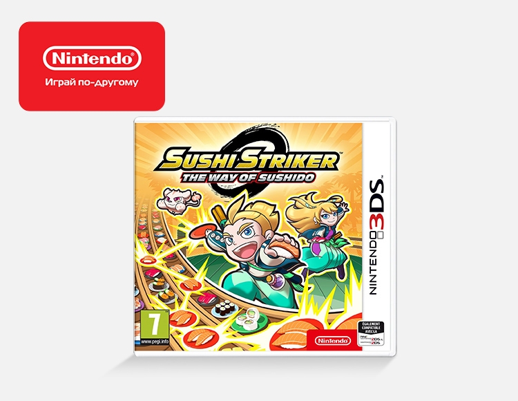 Sushi Striker: The Way of Sushido (Nintendo 3DS) фото