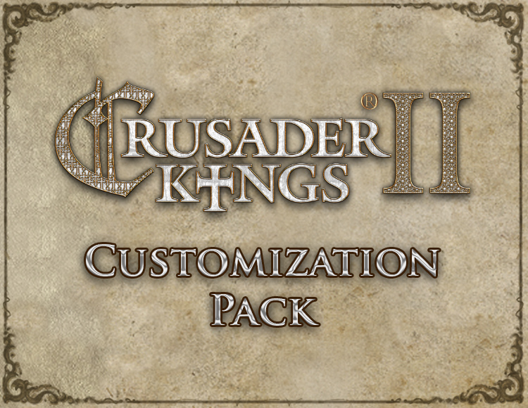 Crusader Kings II: Customization Pack (PC) фото
