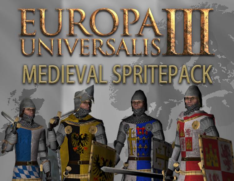 Europa Universalis III: Medieval SpritePack (PC) фото