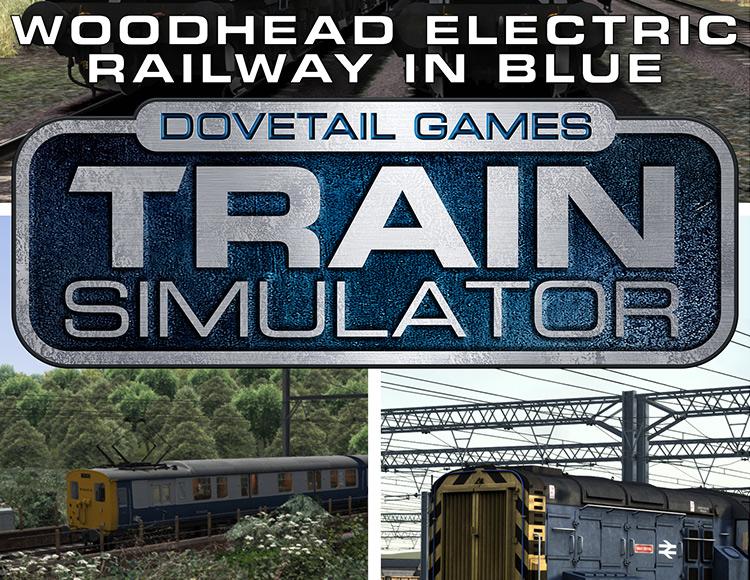 Train Simulator: Woodhead Electric Railway in Blue Route Add-On (PC) фото