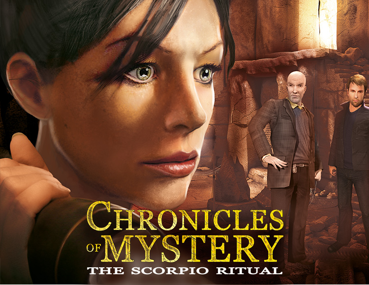 Chronicles of Mystery - The Scorpio Ritual (PC) фото