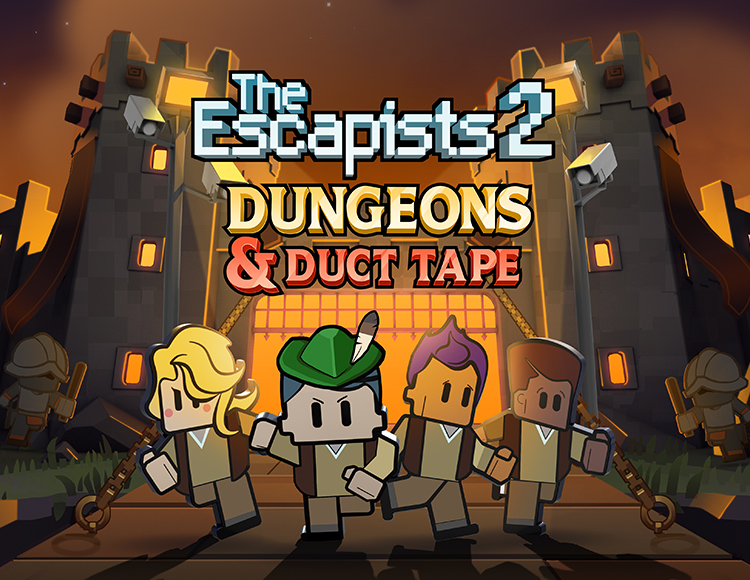 The Escapists 2 - Dungeons and Duct Tape (PC) фото