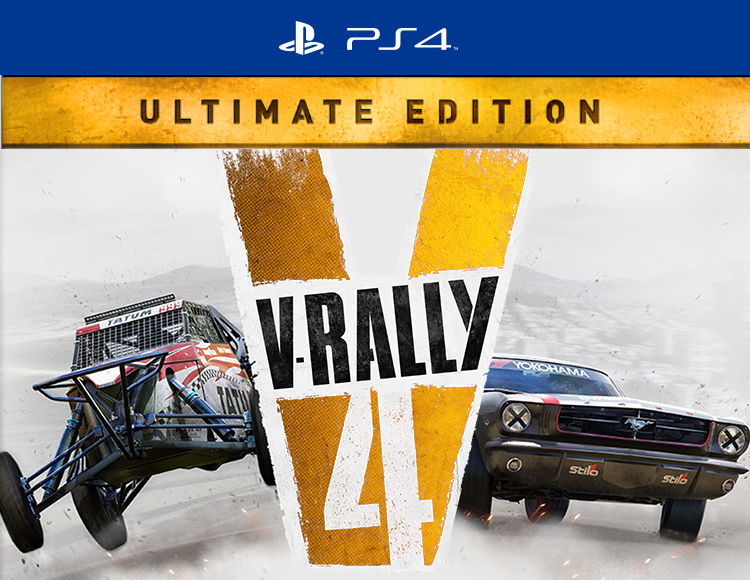 v rally 4 ultimate dition ps4. Black Bedroom Furniture Sets. Home Design Ideas
