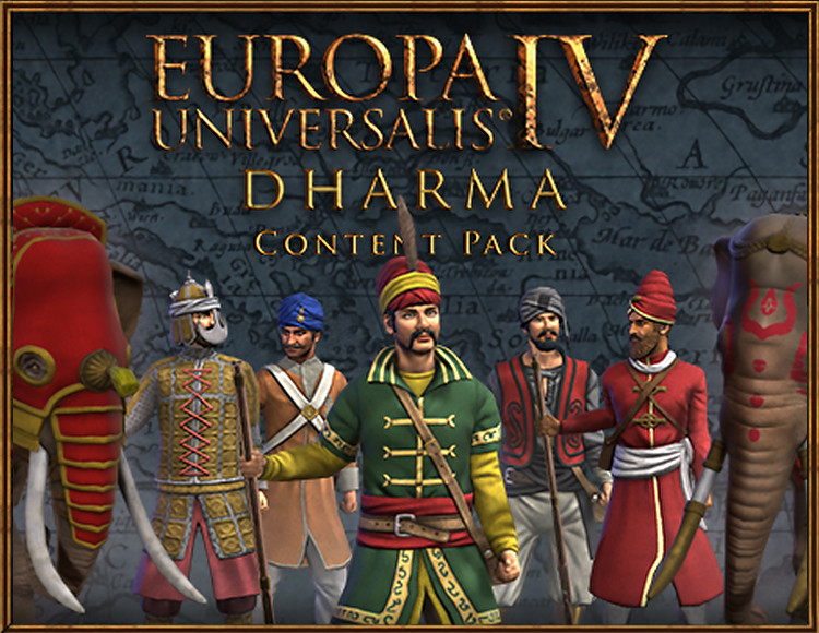 Europa Universalis IV: Dharma Content Pack (PC) фото