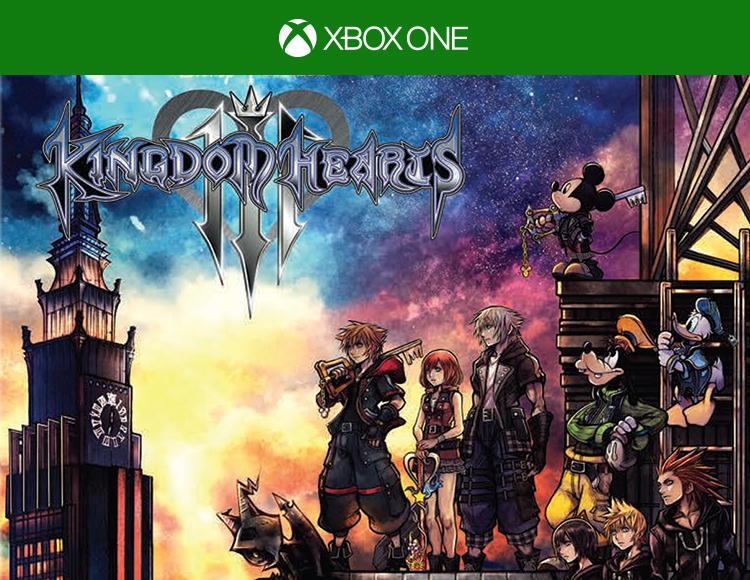 Kingdom Hearts III (Xbox One) фото