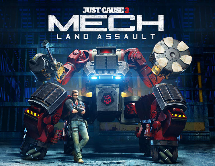 Just Cause 3 DLC: Mech Land Assault (PC) фото