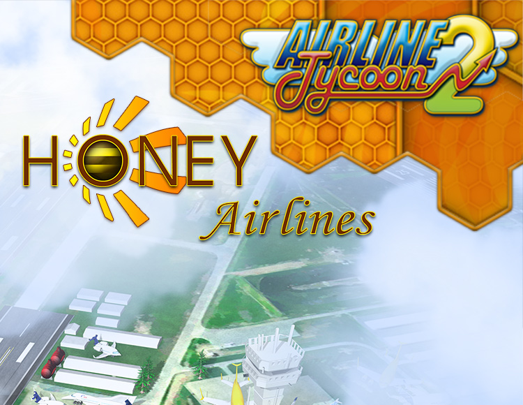 Airline Tycoon 2: Honey Airlines DLC (PC) фото