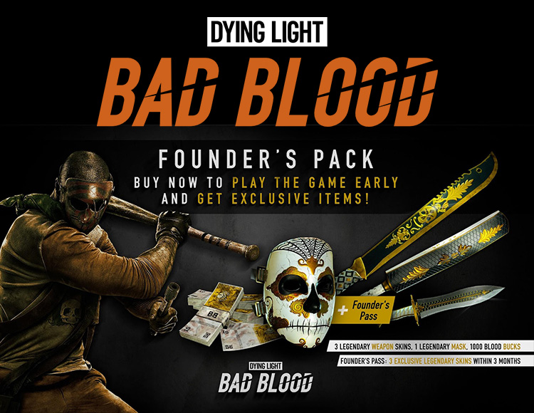 Dying Light Bad Blood Founders Pack (PC) фото
