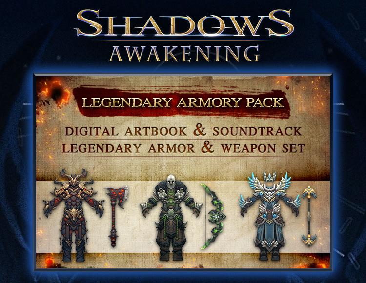 Shadows: Awakening - The Legendary Armour Pack (PC) фото