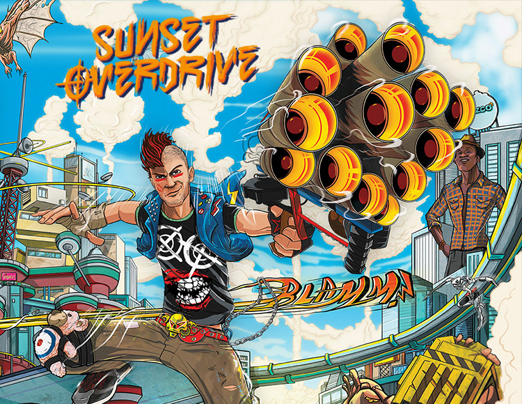 Sunset Overdrive (PC) фото