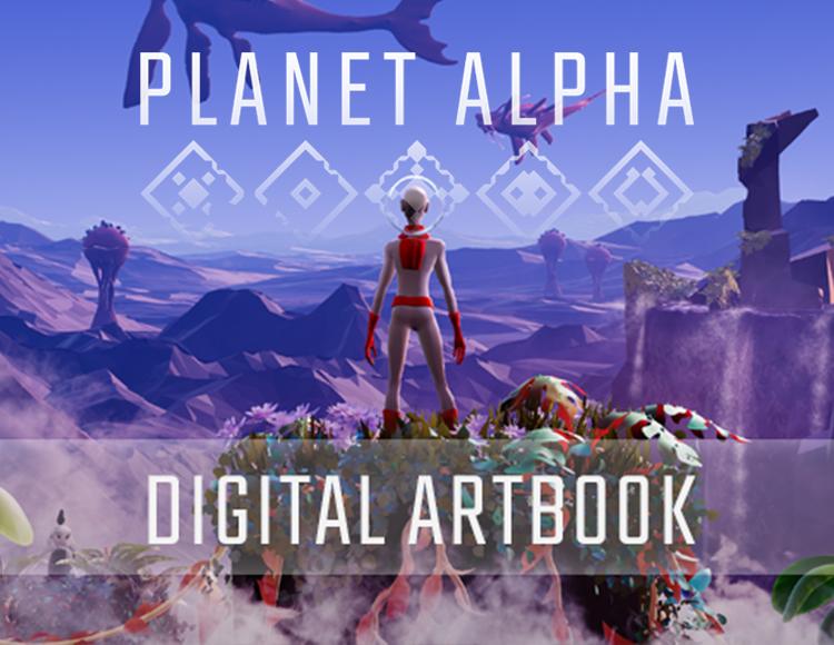 Planet Alpha - Digital Artbook (PC) фото