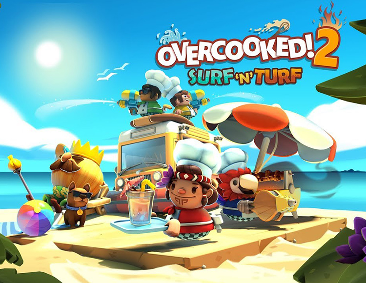 Overcooked! 2 - Surf 'n' Turf (PC) фото
