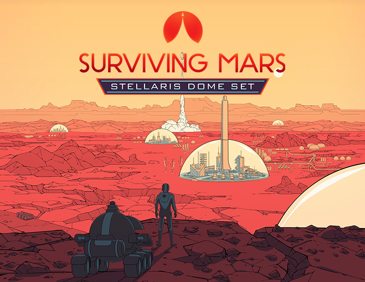 Surviving Mars: Stellaris Dome Set (PC) фото