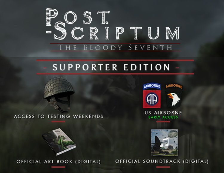 Post Scriptum: Supporter Edition (PC) фото
