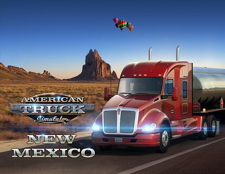 American Truck Simulator: New Mexico (PC) фото