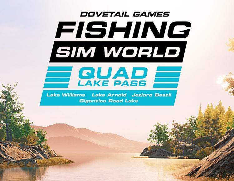 Fishing Sim World: Quad Lake Pass (PC) фото
