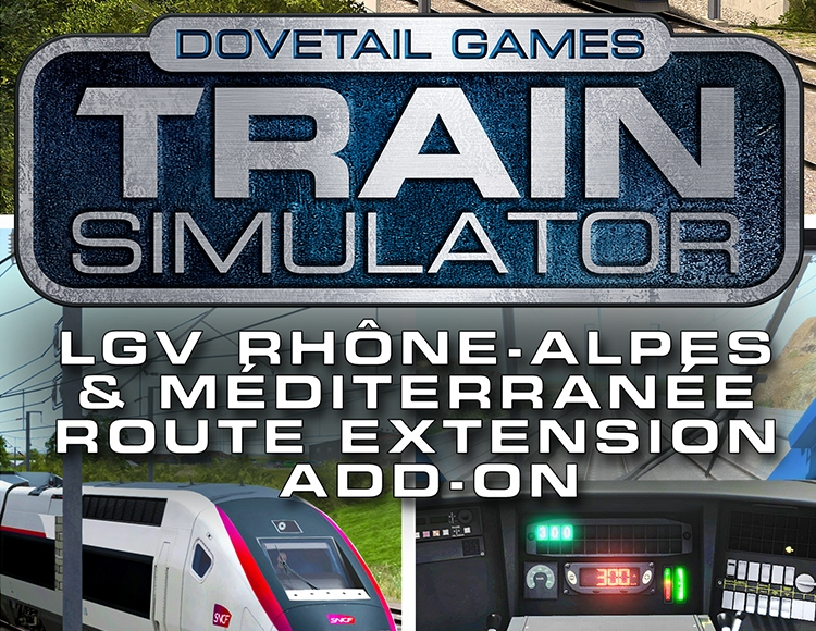 Train Simulator: LGV Rhône-Alpes & Méditerranée Route Extension Add-On (PC) фото