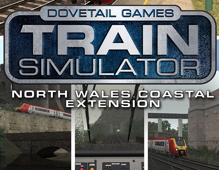 Train Simulator: North Wales Coastal Route Extension Add-On (PC) фото