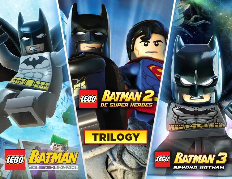 LEGO Batman Trilogy (PC) фото