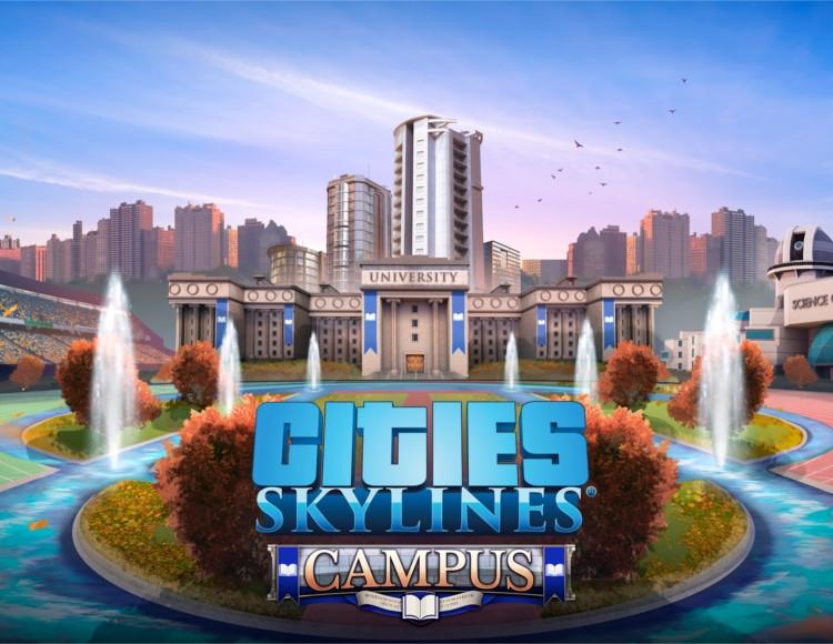Cities: Skylines - Campus (PC) фото