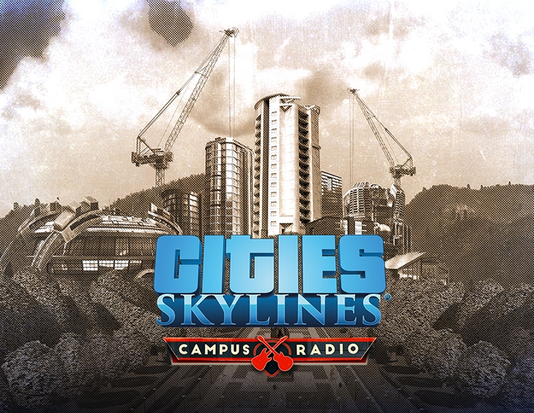 Cities: Skylines - Campus Radio (PC) фото