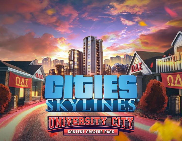 Cities: Skylines - Content Creator Pack: University City (PC) фото