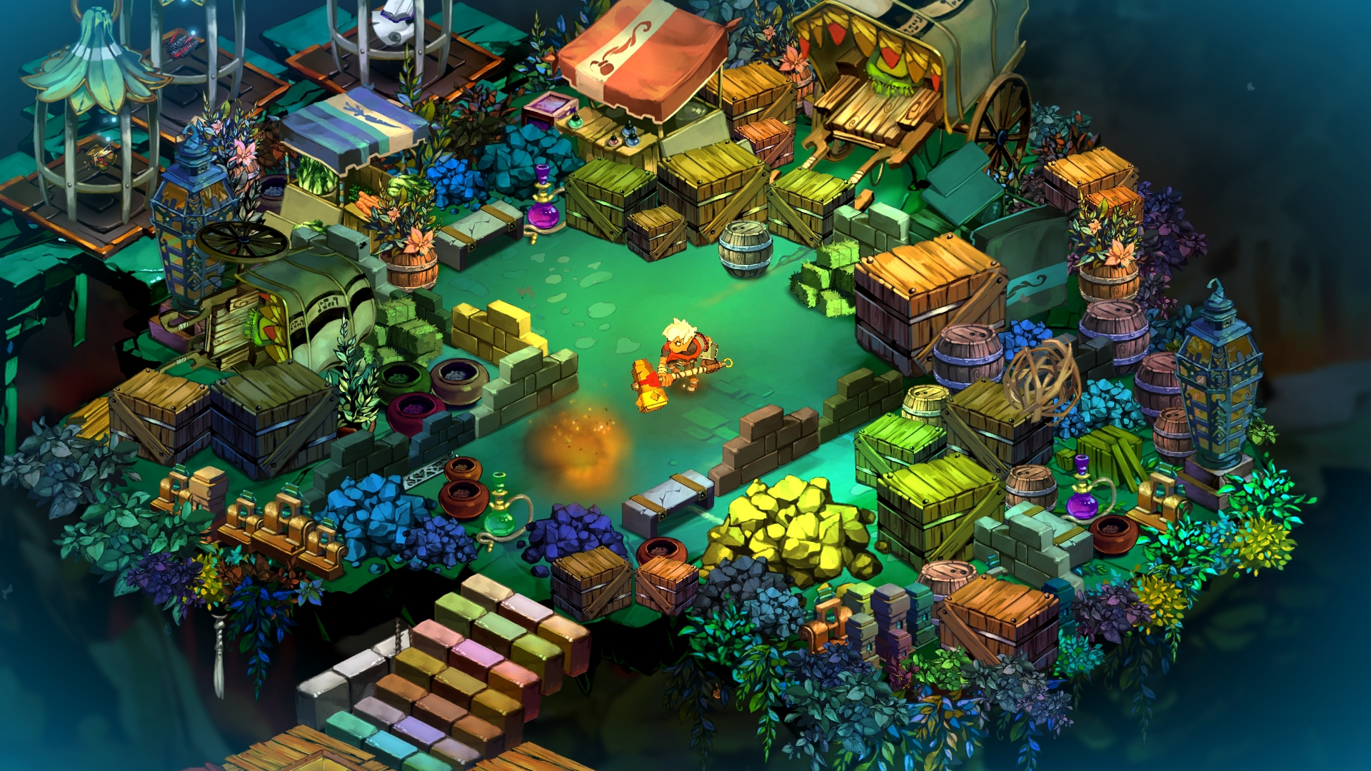 Скриншот - Bastion (PC)