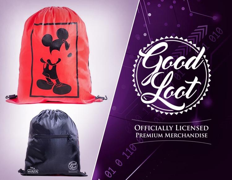 Рюкзак-мешок Disney Mickey фото