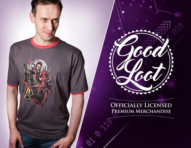 Мужская футболка Marvel Infinity War Avengers (Размер L) фото
