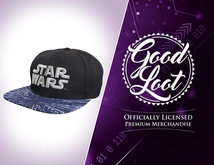 Бейсболка Star Wars Front Logo фото