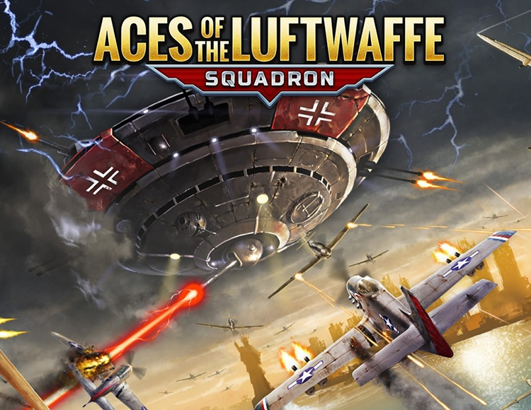 Aces of the Luftwaffe - Squadron (PC) фото