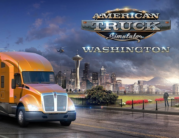 American Truck Simulator - Washington DLC (PC) фото