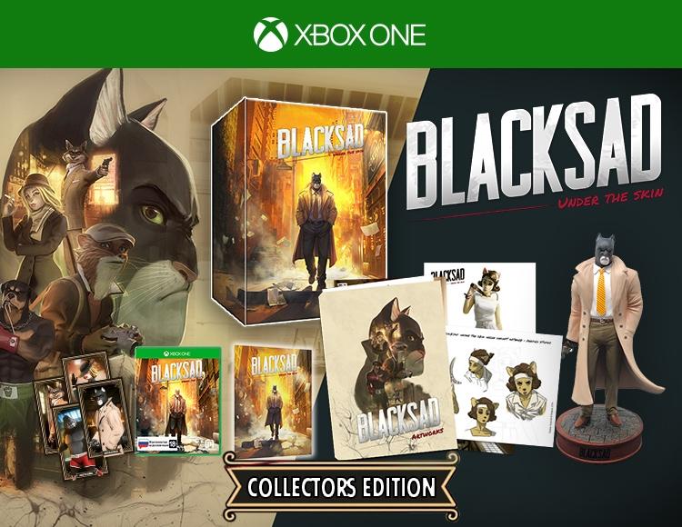 Blacksad: Under The Skin Коллекционное издание (Xbox One) фото