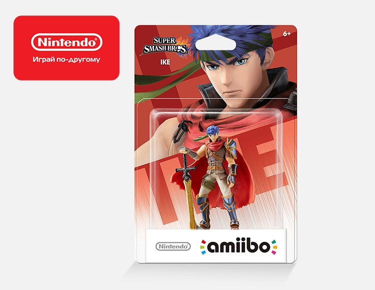 Фигурка amiibo Айк (коллекция Super Smash Bros.) фото