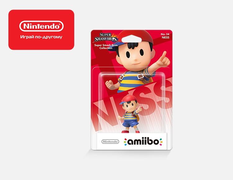 Фигурка amiibo Несс (коллекция Super Smash Bros.) фото
