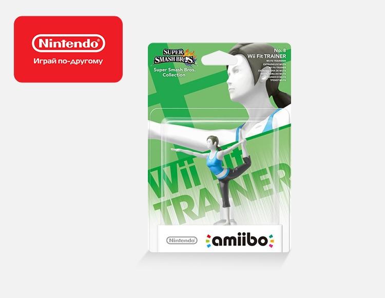 Фигурка amiibo Тренер Wii Fit (коллекция Super Smash Bros.) фото